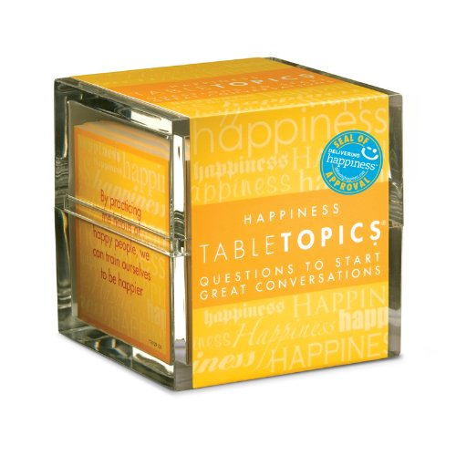 TableTopics Happiness: Questions to Start Great -