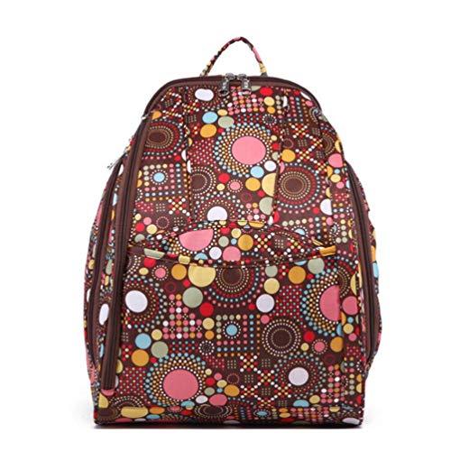 3Pcs/Set Baby Diaper Bag Suit Maternity Bag Travel Mom Backpack Nappy Changing Bags Set Baby Bottle Holder C ()