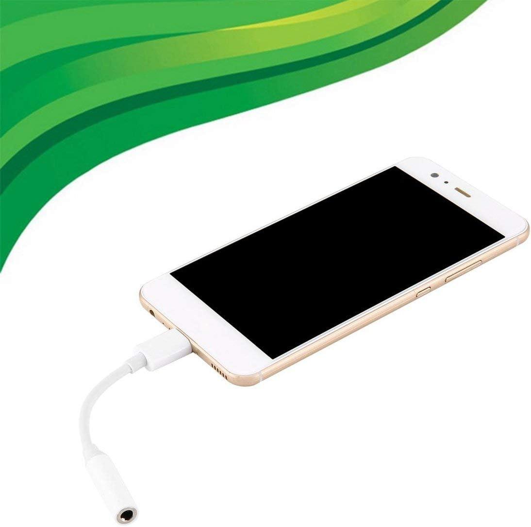 Heaviesk Adaptateur USB de Type C pour /écouteurs 3.5mm USB 3.1 Type C USB-C m/âle vers Jack Audio AUX 3.5 Femelle pour t/él/éphones Mobiles /Écouteurs