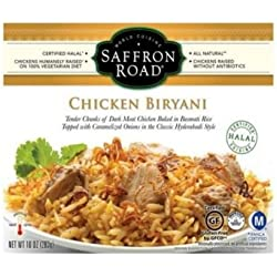 Saffron Road Chicken Biryani, 10 Ounce -- 8 per case.