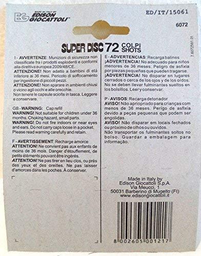 Pack 320 + 80=400 fulminantes en aros de 8 tiros para pistolas de juguete. Amorces 8T: Amazon.es: Juguetes y juegos