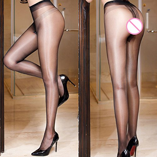 New oily Stockings,Shuohu Seamless Women T Crotch Stockings by Shuohu (Image #4)