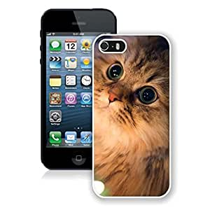 Hot Sell Design Lovely Christmas Cat Iphone 5s Case,Phone Case For Iphone 5,Iphone 5 White TPU Cover
