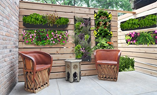 large 1 pocket vertical garden planter living wall planter vertical planters for outdoor. Black Bedroom Furniture Sets. Home Design Ideas