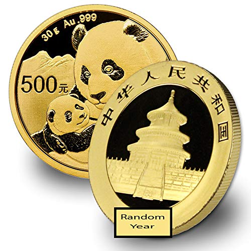 2016 CN - Present 30 Gram Gold Panda Gold Brilliant Uncirculated Random Year