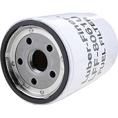 Luber-finer LFF8061U-6PK Heavy Duty Fuel Filter, 6 Pack: Automotive