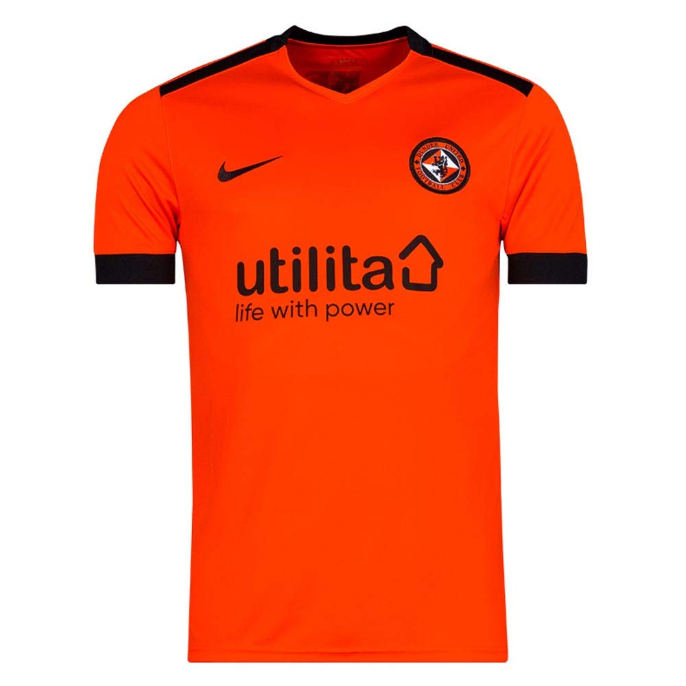 Nike 2018-2019 Dundee United Home Football Soccer T-Shirt Trikot