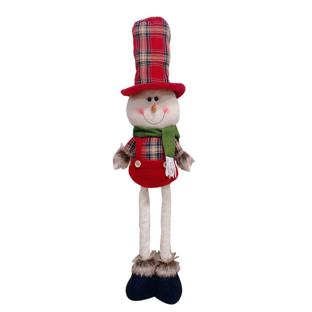 TAOtTAO Adorno de Navidad Lindo elástico muñeca telescópica muñecas de Navidad Regalo, 1.17, Color B: Amazon.es: Deportes y aire libre