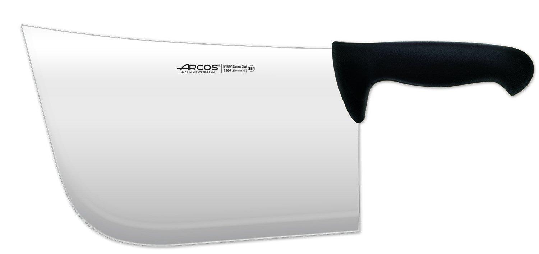 Arcos 11-Inch 270 mm 1200 gm 2900 Range Cleaver, Black