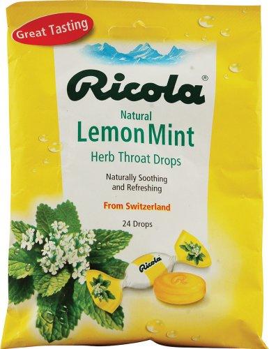 Ricola Lemon Cough Throat Drops