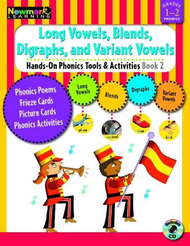 Hands-On Phonics Book 2: Long Vowels, Blends, Digraphs, Variant Vowels Grades 1-2 with CD-ROM]()