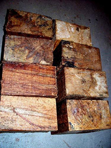 Eight (8) Ambrosia Maple Bowl Blanks Lathe Turning Blocks Wood 5 X 5 X 3