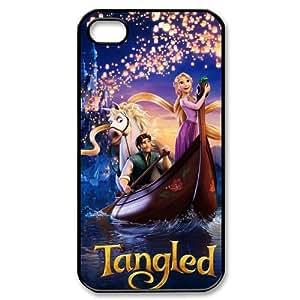 Customize Cartoon Tangled Princess Back Case for iphone 4 4S JN4S-1889