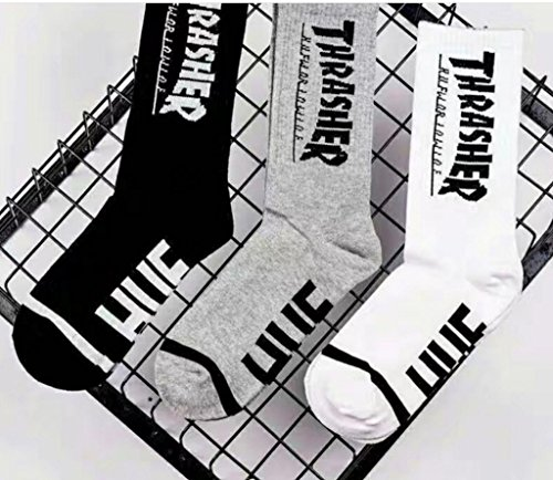 Unisex 100% Cotton Sock Sporting Socks (Black, 1) at Amazon Womens Clothing store:
