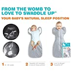 Love-To-Dream-Swaddle-UP-Warm-Lilac-Small-7-13-lbs-Dramatically-Better-Sleep-Allow-Baby-to-Sleep-in-Their-Preferred-arms-up-Position-for-self-Soothing-snug-fit-Calms-Startle-Reflex