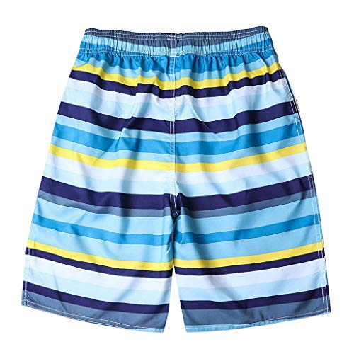 Girls Mesh Shadow Stripe (Youngh Pants Men's Shorts Swim Trunks Quick Dry Beach Surfing Running Swimming Watershort)