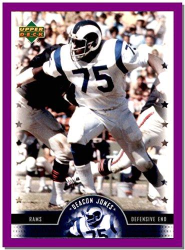 - 2005 Upper Deck Legends #62 Deacon Jones LOS ANGELES RAMS