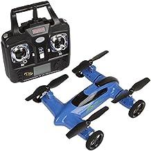 * última tecnología * Syma X9RC Control Remoto Quadcopter Drone Flying coche 2.4GHz 4CH 6Axis Gyro Incluye Bono de batería–En línea exclusivo color azul