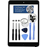 Black iPad Mini/Mini 2 Digitizer Replacement Screen Front Touch Glass Assembly Replacement