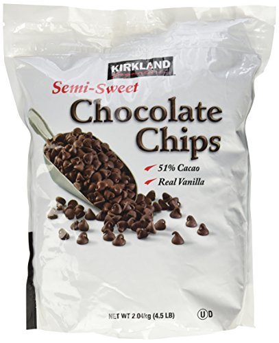 - Kirkland Signature Semi-Sweet Chocolate Chips, 72 Ounce