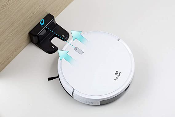 SENYA Robot aspirateur pour tapis et sols durs 2en1 connecté