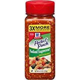 Bring exciting flavor and color to the table with McCormick Perfect Pinch Salad Supreme. A premium blend of Romano cheese, sesame and poppy seeds, and bold spices, it adds robust, savory flavor to meals while cooking, and right at the table. And with...