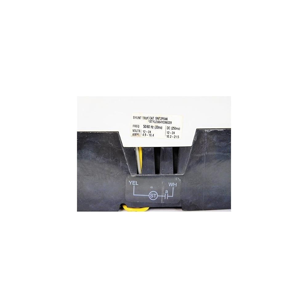 Eaton Hjddc 3200a1301s4201 3p 200a 600vdc Line Load Mccb W Shunt Electric Qo Qwikgard 20 Amp Singlepole Gfci Circuit Breaker Auxiliary Thermal Mag Trip