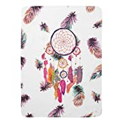 Zazzle Hipster Watercolor Dreamcatcher Feathers Pattern Receiving Blanket