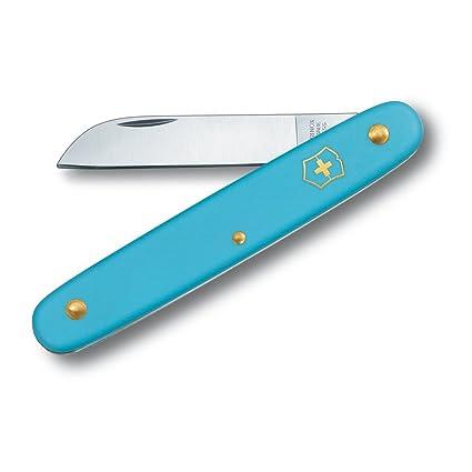 Amazon.com: Victorinox cuchillo azul floral Fold cuchillo ...