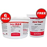 6-PACK Joint MAX TRIPLE Strength SOFT CHEWS (1440 CHEWS) + FREE Joint Treats