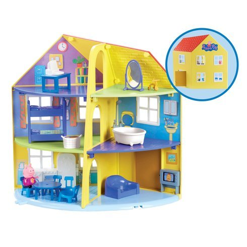 Peppa Pig Family Home Playset Includes Furniture Accessories and An...