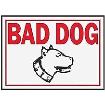 """Hyko Products Co 20401397 Bad Dog 10"""" X 14"""" - Aluminum"""