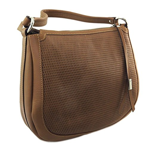 Gianni Cm Conti Leather 30x25x10 Brown P9022 Bag RRq6w