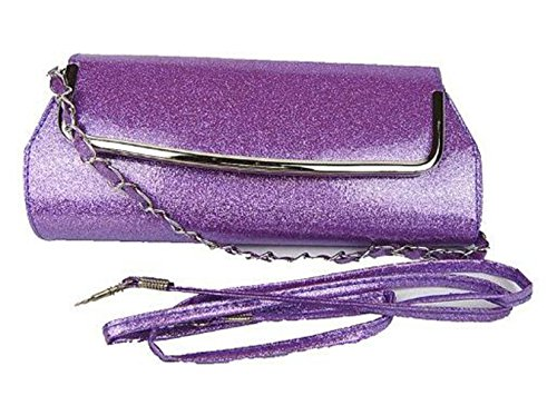 Bags Short Bags Clutch 7 Lips red Evening with Style Weapons Chain 6 8q68BI