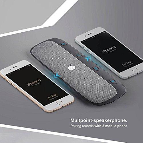TOOPOOT® Motorola Roadster Pro Bluetooth Car Kit TZ900 Speakerphone by TOOPOOT® (Image #7)