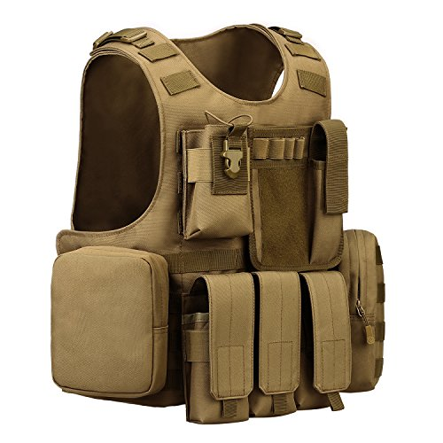 Review ArcEnCiel Tactical Molle Vest,