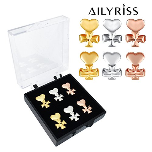 d13518a12 Earring Lifter Backs,Earring Lift (1 Pair 18K Gold Plated and 1 Pair Silver
