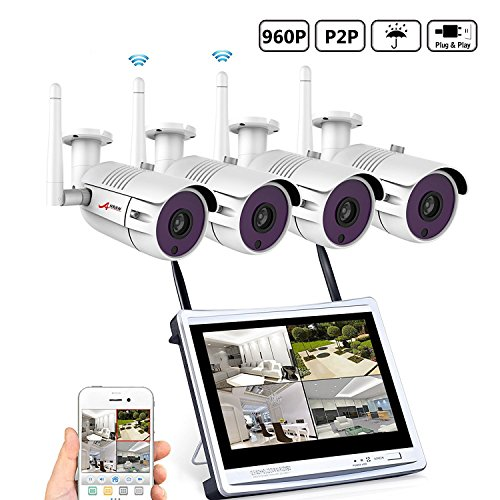 6. ANRAN 4CH Security Camera System