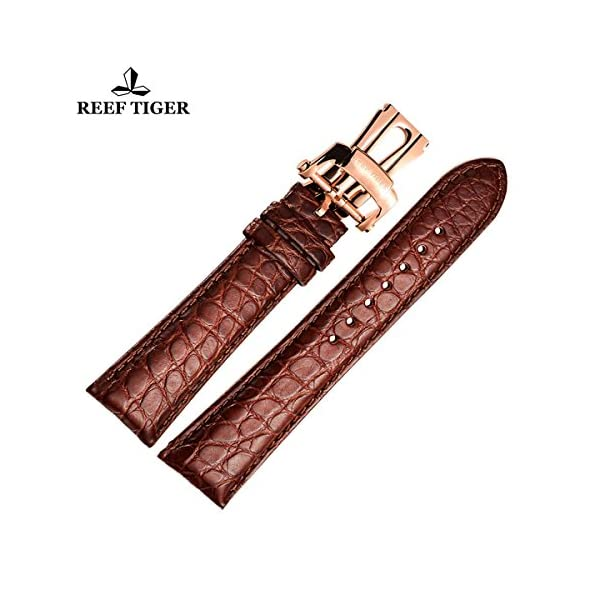 Reef-Tiger-22mm-Replacement-Alligator-Watch-Strap-Leather-Watch-Band