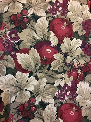 RALPH LAUREN Harvest Fruit Autumn Fall Thanksgiving Cotton Tablecloth - 60 x 84