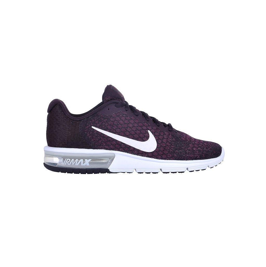 Nike Herren Air Max aufeinanderfolgend 2 II Portwein Weiszlig; Bordeaux Laufschuhe 852461 601  47.5 EU