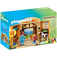 PLAYMOBIL Pony Stable Play Box Playset