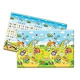 Parklon Soft Playmat - Pororo Fruit Land (English) Super Big size super Thick (210cmx140cmx1.5cm) by Parklon