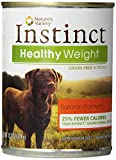 Nature's Variety 699151 12-Pack Canine Instinct Can Diet Healthy Weight Salmon for Pets, 13.2-Ounce