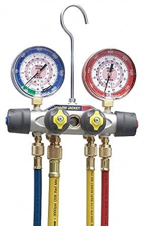 Amazon.com: Mecánico múltiples Gauge Set, 4-valve ...
