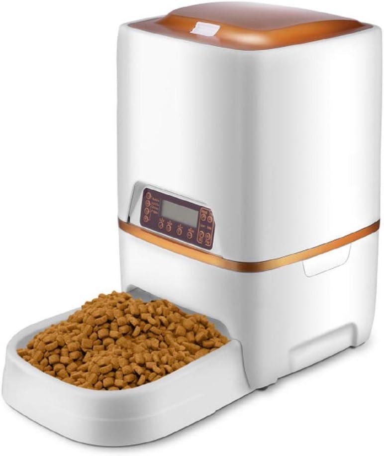 Sailnovo Dispensador Automático Comida Gatos Comederos automáticos de Mascotas para Perros y Gatos 6L (6L)