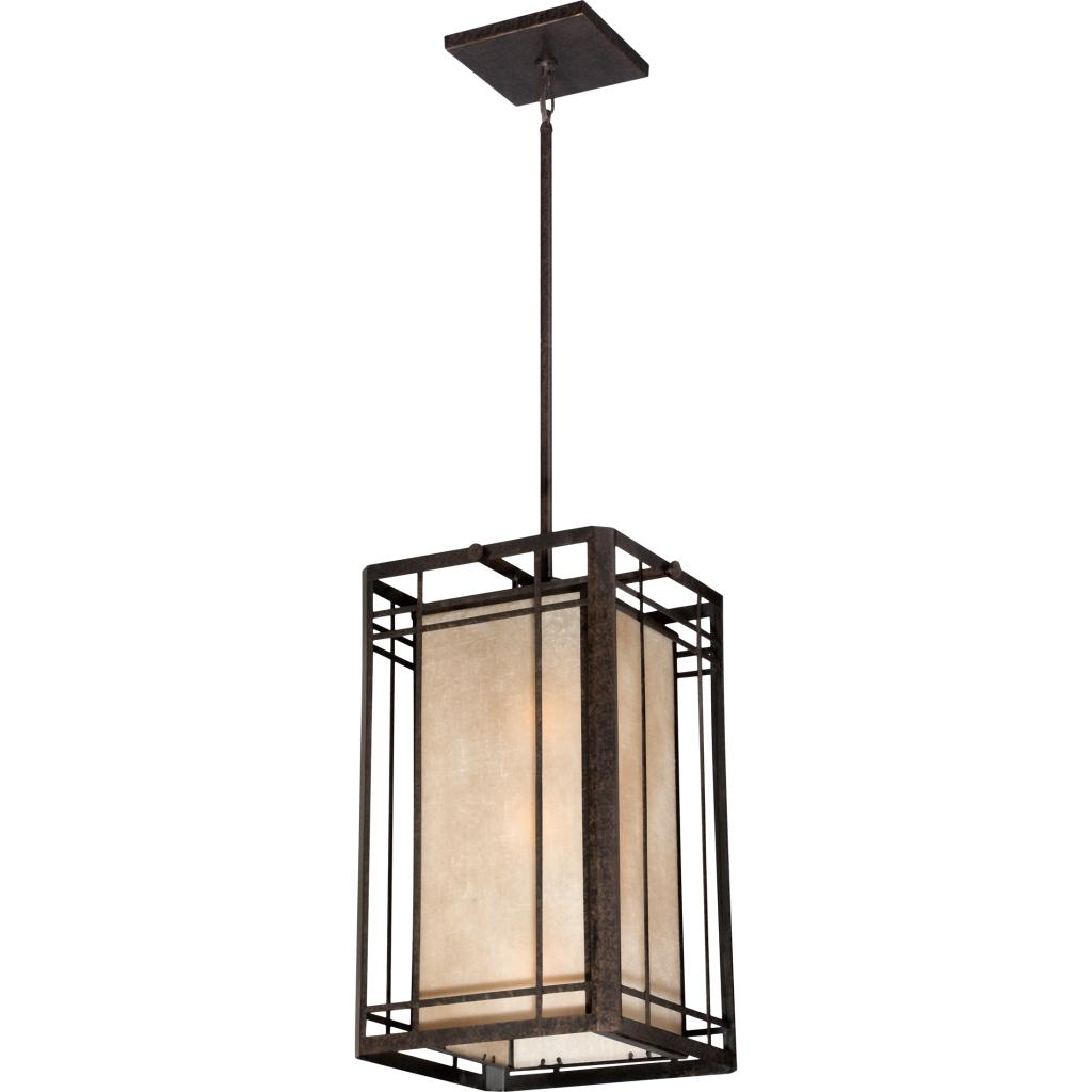Quoizel HC5203IB Hillcrest With Imperial Bronze Finish Outdoor Chandelier B