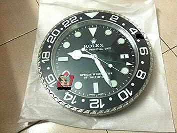 GMT Replica Rolex Wall Clock 35 cm Diameter Amazoncouk Kitchen