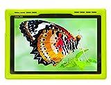 BobjGear Bobj Rugged Case for ASUS ZenPad Z300, Z300CX, Z300C, Z300CG, Z300CL, Z301ML, Z301MFL, P023, Z300M, Z301M P00C, P01A, P00L Custom Fit - Patented Venting - Sound Amplification (Gotcha Green)