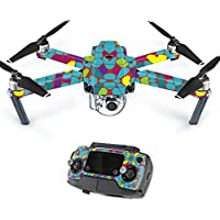 MightySkins Protective Vinyl Skin Decal for DJI Mavic Pro Quadcopter Drone wrap cover sticker skins Bright Stones